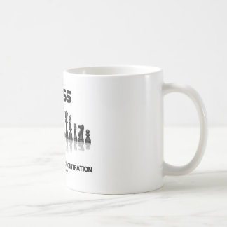 Chess Demands Total Concentration (Chess Set) Mug