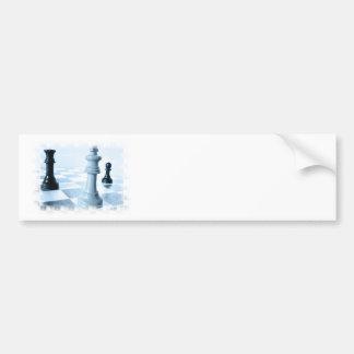 Chess Design Bumper Sticker