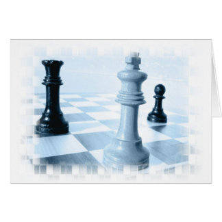 Chess Design  Greeting Card