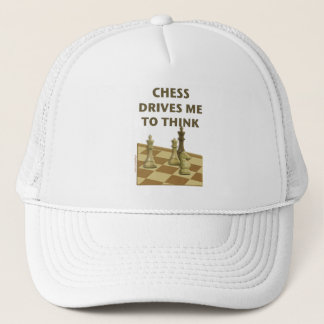 Chess Drives Me Trucker Hat