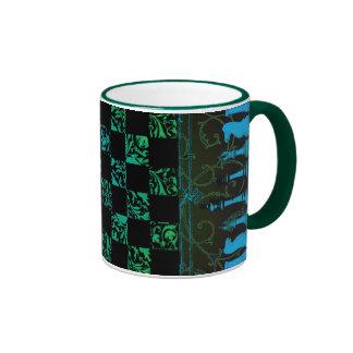 Chess Freak II Ringer Coffee Mug