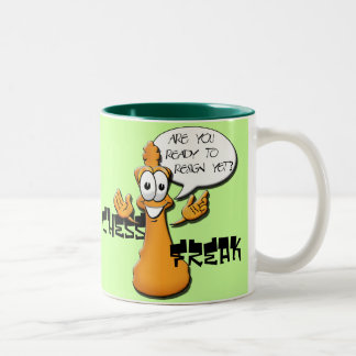 Chess Freak Two-Tone Coffee Mug