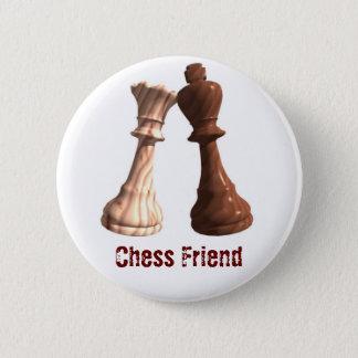 Chess Friend - WKBQ 6 Cm Round Badge