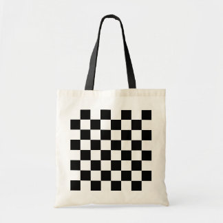 Chess Game Board Budget Tote Bag