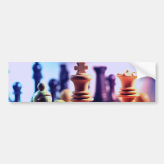 Chess Game Bumper Sticker