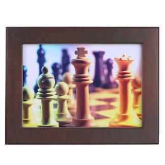 Chess Game Keepsake Boxes