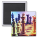 Chess Game Magnet