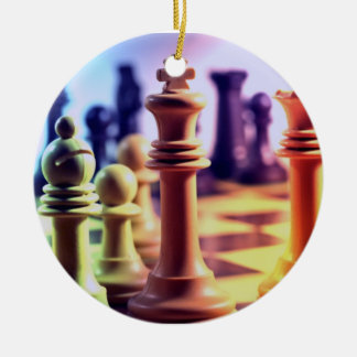 Chess Game Ornament