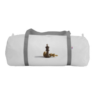 Chess Game Over Gym Duffel Bag