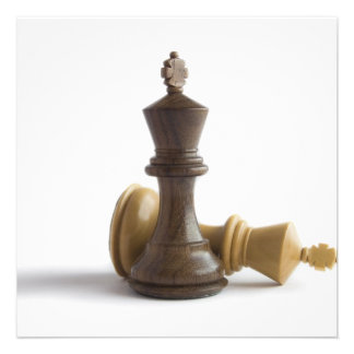 Chess Game Over Invitation