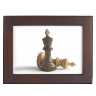 Chess Game Over Memory Boxes