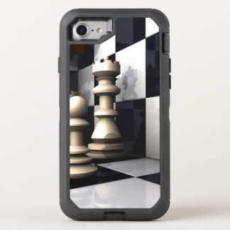 Chess Game Play OtterBox Defender iPhone 7 Case