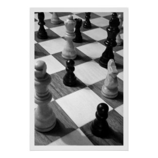 Chess Game Poster