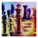 Chess Game Print