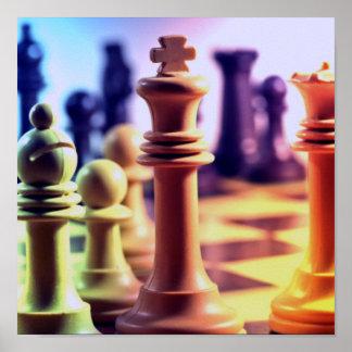 Chess Game Print