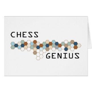 Chess Genius Greeting Card