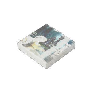 Chess Stone Magnet