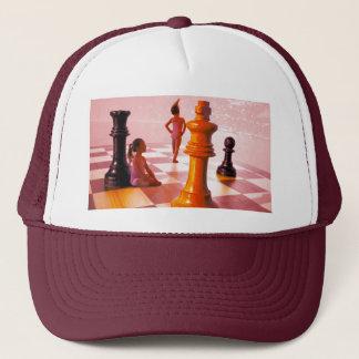 Chess Girls Trucker Hat