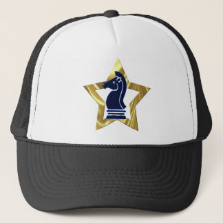 Chess Gold Star Rook Trucker Hat