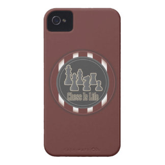 Chess is Life Red Case-Mate iPhone 4 Cases