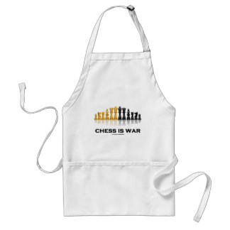 Chess Is War (Chess Attitude) Standard Apron