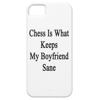 Chess Is What Keeps My Boyfriend Sane iPhone 5 Covers