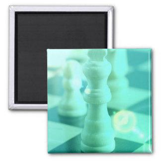 Chess King Square Magnet Fridge Magnet