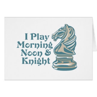 Chess Knight Card