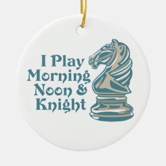 Chess Knight Christmas Ornament