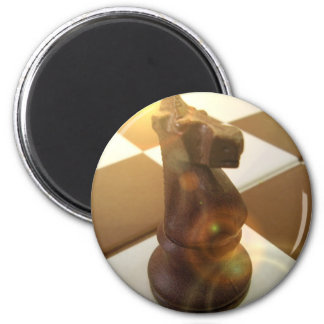 Chess Knight Round Magnet Fridge Magnets