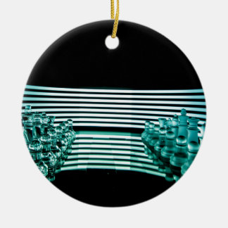 Chess lights christmas ornament