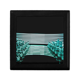 Chess lights small square gift box