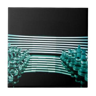 Chess lights tile