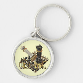 Chess Maniac Key Ring