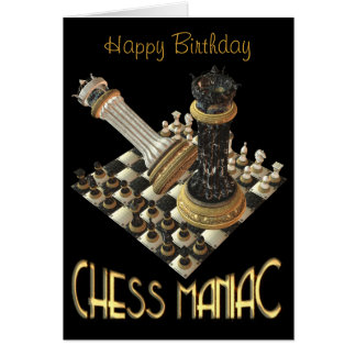 Chess Maniacs Card