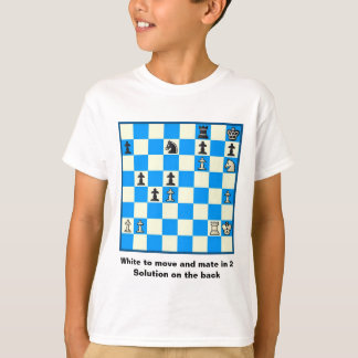 Chess Mate In 2 Puzzle #5 T-Shirt