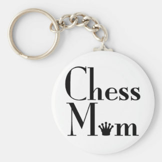 Chess Mom Key Ring