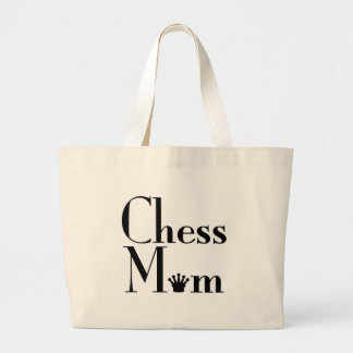 chess Mom Large Tote Bag