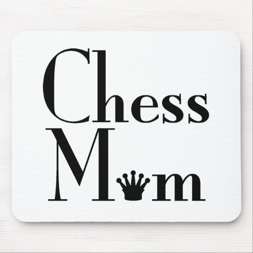 chess Mom Mouse Pad