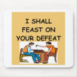 CHESS MOUSE MAT