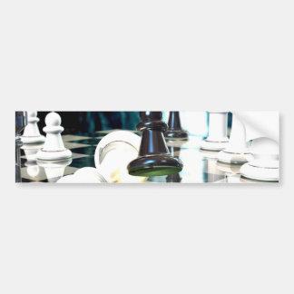 Chess Move Bumper Stickers