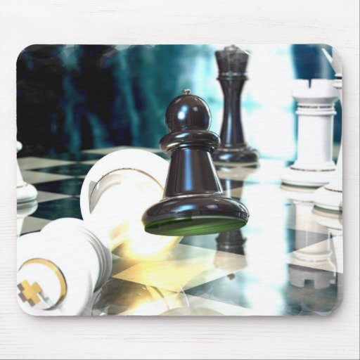 Chess Move  Mouse Pad
