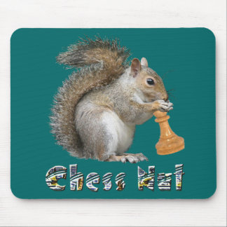 Chess Nut Mouse Mat