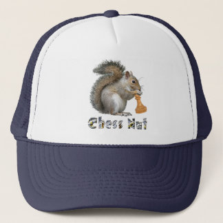 Chess Nut Trucker Hat