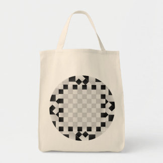 Chess Pad Grocery Tote Bags