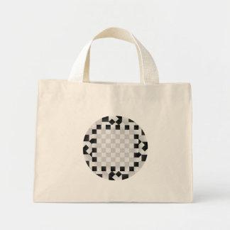 Chess Pad Tiny Tote Canvas Bag