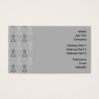 Chess Pattern. Business Card
