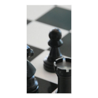 Chess Personalized Photo Card