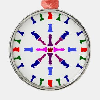 Chess Piece Design Christmas Ornament