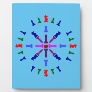 Chess Piece Design Plaque